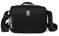 Удобная сумка для фото и аксессуаров Crumpler Base Layer Camera Cube M black / rust red, BLCC-M-001