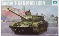 Т-64 В модель 1984г.   1\35     TRUMPETER