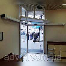 Кутові автоматичні двері Portalp SLV (Франція)