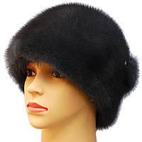 """Женская шапка  из меха норки """" Виола """" цвет ирис"""