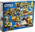 Конструктор аналог Lego City Шахта Зона горных экспертов, 919 дет, фото 2