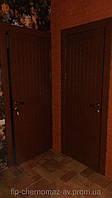 Дверь межкомнатная из массива дуба глухая однопольная