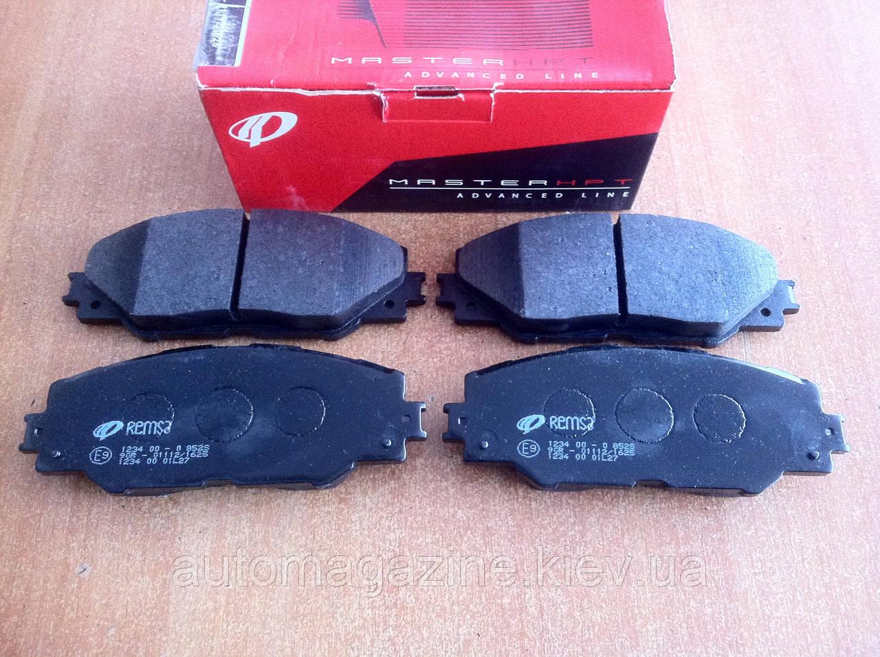Колодки тормозные передние Toyota RAV4, Toyota Auris, Prius Plus (Remsa)