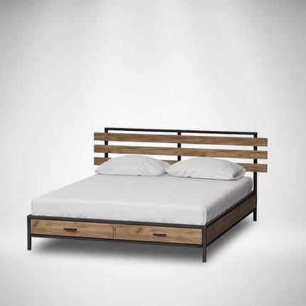 Ліжка ЛОФТ метав дерево, фото 2