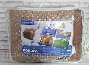 Одеяло евро размер 4 сезона двойное на кнопках в подарочной сумке О-802