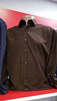 Рубашка мужская коричневая Benetti Турция