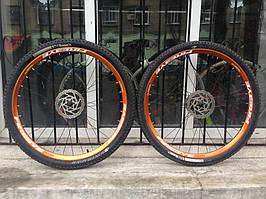 """Сборка колес 29"""" на ободах Fireeye для велосипеда TREK 1"""