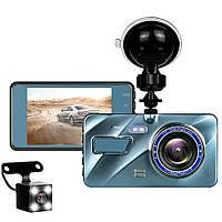Автомобильный видеорегистратор DVR A10 Full HD с выносной камерой заднего вида