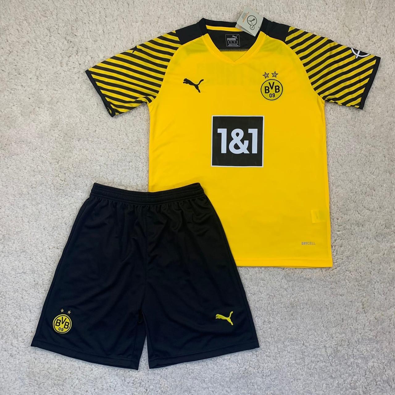 Футбольная форма Боруссия Д/ Borussia Dortmund football uniform 2021-2022 дом