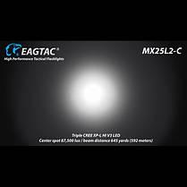 Фонарь Eagletac MX25L2C R44 3*XP-L V3 (3445 Lm), фото 2