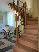 Лестница под зашивку деревом