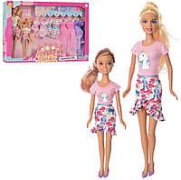 Кукла с нарядом DEFA, дочка, платья, аксессуары, 2 вида, 8447-BF