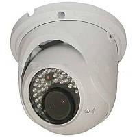 TD-7525E HD-TVI уличная купольная видеокамера c вариофокальным объективом.