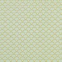 Отрез ткани последний Tilda Flower Fan Olive 50х55см, 480799