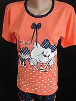 Хлопковые пижамы с шортами., фото 1