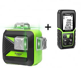 СУПЕР ПРЕДЛОЖЕНИЕ 🔥 🔥 🔥 Лазерный уровень Huepar 3D HP-603CG + лазерный дальномер 💥 Huepar LM50A