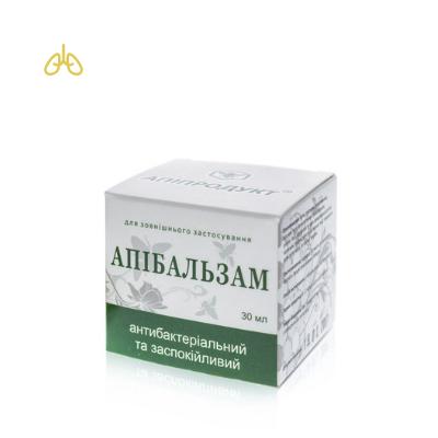 Антибактеріальний та заспокійливий крем-апібальзам [Ялиця, бджолиний віск]