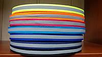 Лента 10мм со светоотражающей полосой цветная
