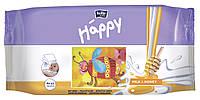 Влажные салфетки Happy 64шт Мёд и молоко