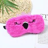 Маска для сну Фламінго рожевий