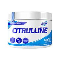 Аминокислота 6PAK Nutrition Citrulline, 200 грамм Лимон