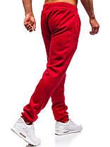 Штаны мужские спортивные красные, фото 2