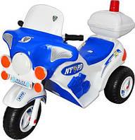 """Детский электромобиль """"Мотоцикл Полицейский"""" Орион 372"""