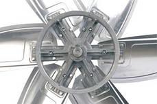 Осевой промышленный вентилятор для сельского хозяйства Турбовент ВСХ 44.5, фото 3