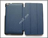Синий tri-fold case чехол-книжка для планшета Asus Zenpad C P01Y Z170C Z170CG, фото 5
