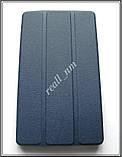 Синий tri-fold case чехол-книжка для планшета Asus Zenpad C P01Y Z170C Z170CG, фото 2