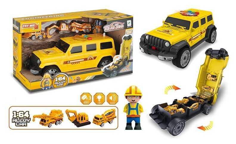 Машина-гараж 660 А-255 (24/2) світлові і звукові ефекти, в коробці