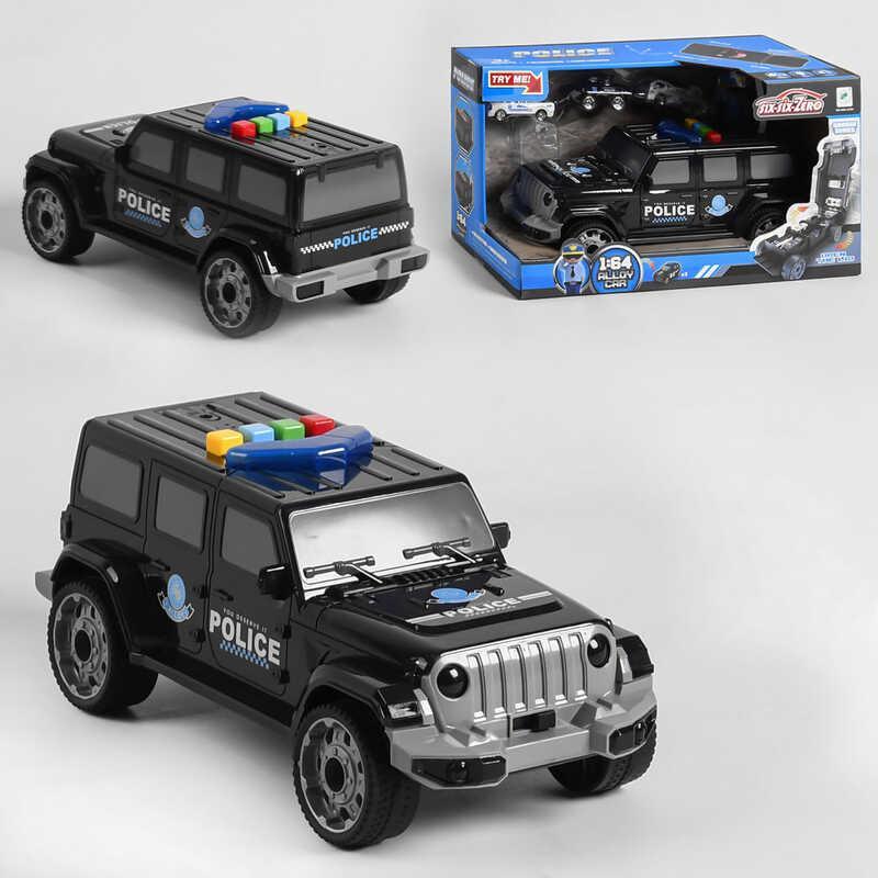 Машина-гараж 660 А-254 (24/2) световые и звуковые эффекты, в коробке