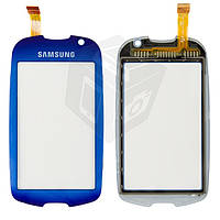 Touchscreen (сенсорный экран) для Samsung S7550, синий, оригинал