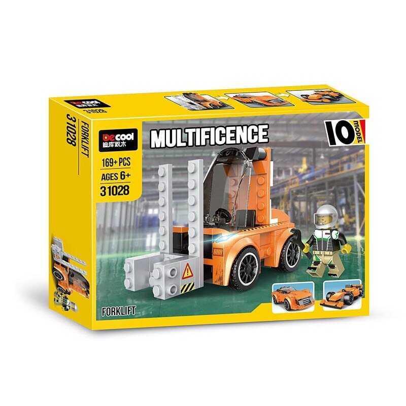 "Конструктор 31028 (60/2) ""Авто-конструктор"", 169 деталей, в коробці"