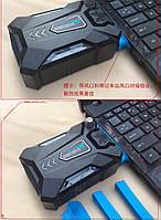 Внешний USB кулер для охлаждения ноутбуков Omeidi USB Notebook Idea Cooling Fan R-300, охлаждение ноутбука