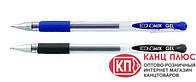 Economix Ручка гелевая GEL. Цвет - синий и черный (12шт)  арт.E11901