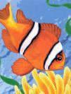"""Холст по номерам """"Рыбка"""" CX3002 20х30"""