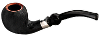 Трубка  Aldo Morelli 80755 Tirolesi, вереск, фильтр 9 мм, черный/сатин