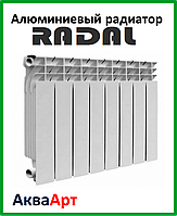Алюминиевый радиатор RADAL 500х100