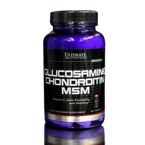 спортивное питание ultimate nutrition глюкозамин хондроитин мсм 90 таблеток