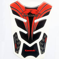Наклейка на бак Kawasaki Racing, фото 1