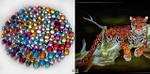 Отличия алмазной вышивки, рисования камнями от картин стразами, и есть ли они?