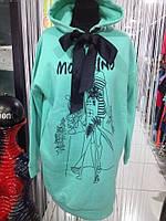 Платье туника на байке