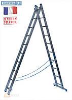 Лестница алюминиевая 2х12, Tubesca Франция