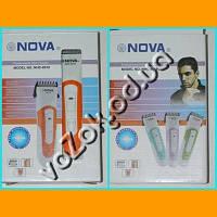 Беспроводная машинка триммер для стрижки волос Professional Hair Clipper Nova NHC-8010 на аккумуляторе