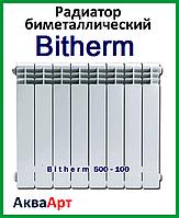 Радиатор биметаллический BITHERM 500x100