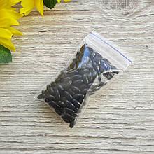 Жемчуг искусственный Рис. Цвет черный. 4 на 8 мм. 10 гр - 140 шт