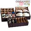 Органайзеры для белья 3 шт ORGANIZE (амаретто)