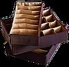 Органайзеры для белья 3 шт ORGANIZE (амаретто), фото 5
