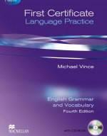 Английская грамматика First Certificate Language Practice New Edition + CD-ROM With Key